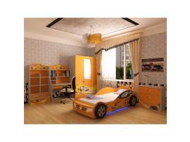 Кровать машина Champion (оранжевая) изображение 7