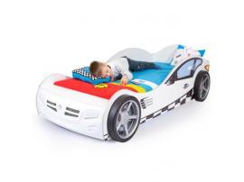 Кровать машина Formula (белая) изображение 2