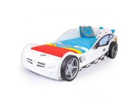 Кровать машина Formula (белая) изображение 1