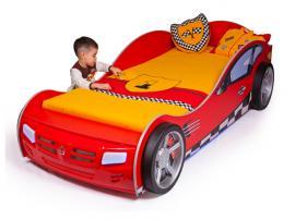 Кровать машина базовая Formula (красная)
