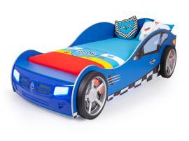 Кровать машина базовая Formula (синяя)