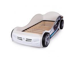 Кровать машина La-Man (синяя) изображение 8