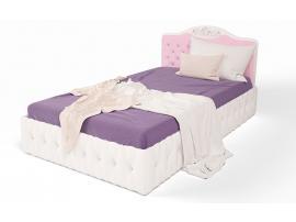 Кровать классика с подъемным механизмом и каретной стяжкой 120x190 Princess изображение 3