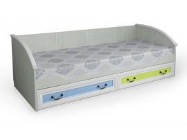 Кровать Классика Карамель 90*190