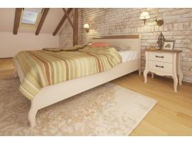 Кровать Лебо 90х200 (бежевый воск/браун) 60710 изображение 2