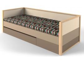 Кровать с фальшпанелью и ящиком Робин Wood изображение 1