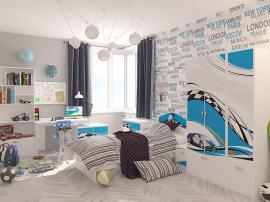 Стол модульный La-Man (голубая) изображение 3