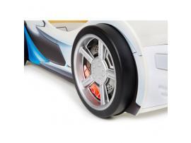 Кровать-машина La-Man New (голубая) изображение 4