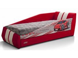 Диван-кровать LAMBIC (Ламбик) красный изображение 1