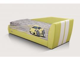 Диван-кровать LAMBIC (Ламбик) желтый изображение 3