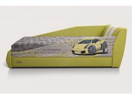 Диван-кровать LAMBIC (Ламбик) желтый изображение 5