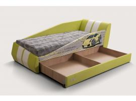 Диван-кровать LAMBIC (Ламбик) желтый изображение 7