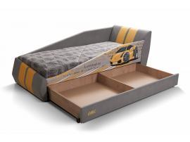 Диван-кровать LAMBIC (Ламбик) серый изображение 3