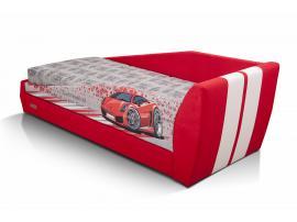 Диван-кровать LAMBIC (Ламбик) красный изображение 3