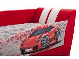 Диван-кровать LAMBIC (Ламбик) красный изображение 6