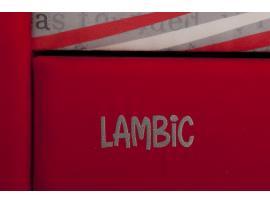 Диван-кровать LAMBIC (Ламбик) красный изображение 7