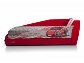 Диван-кровать LAMBIC (Ламбик) красный изображение 5