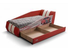 Диван-кровать LAMBIC (Ламбик) красный изображение 9