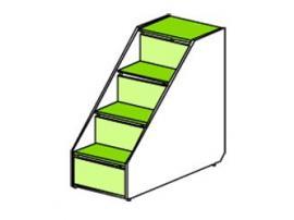 Лестница Силуэт (глянец) СФ-262915