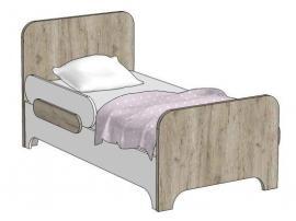 Кровать простая MB1-160 Клюква Мини изображение 1