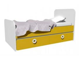 Кровать с 2-мя ящиками (универсальная) MB2-160Q Клюква Мини изображение 2