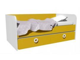 Кровать-диван с 2-мя ящиками MB3-160Q Клюква Мини изображение 2
