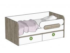 Кровать-диван с 2-мя ящиками MB3-160Q MINI PRINT