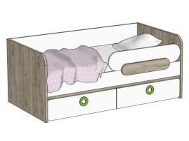 Кровать-диван с 2-мя ящиками MB3-160Q Клюква Мини изображение 1