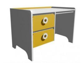 Стол письменный MST1-110Q Клюква Мини изображение 2