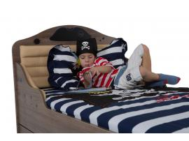 Кровать Пират №2 с высоким изножьем изображение 5