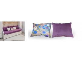 Комплект подушек со съемный чехлом (50х75) изображение 3