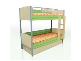 Кровать двухъярусная Полосатый рейс изображение 1