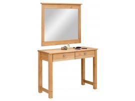 Столик туалетный с зеркалом Рауна (бейц) изображение 1