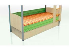 Кровать нижняя Полосатый рейс