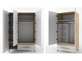 Шкаф 3-х створчатый Риган изображение 3