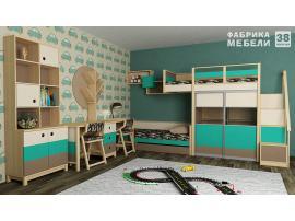Кровать с фальш-панелью и ящиком Робин Wood изображение 2