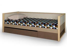 Кровать с фальш-панелью и ящиком Робин Wood изображение 1