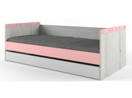 Кровать НьюТон розовая изображение 1