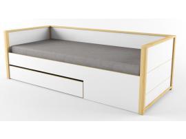 Кровать нижняя с фальшпанелью Робин Wood Лайт