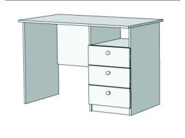 Стол письменный с 3 ящиками S2-110Q изображение 2