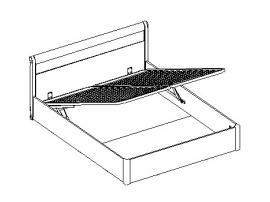 Кровать с подъемным механизмом изображение 1