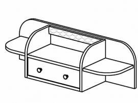 Полка настольная Стрекоза СФ-316402