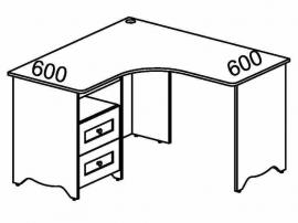 Стол угловой Стрекоза СФ-311902