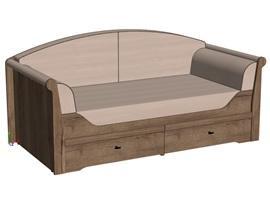 Мягкая сидушка для кровати-дивана Calypso Wood изображение 3