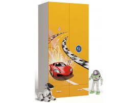 Шкаф 2-х дверный Formula (оранжевый) изображение 1