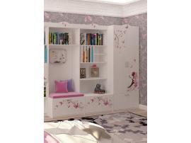 Шкаф 2-х дверный без зеркала ABC Фея изображение 4
