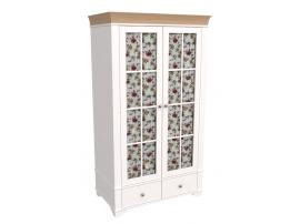 Шкаф 2-х дверный со стеклянными дверями Бейли изображение 3