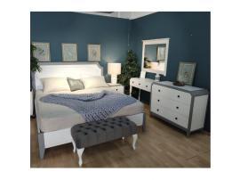 Кровать София 180х200 (серый лак) изображение 2