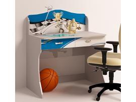 Стол без надстройки La-Man (синяя) изображение 2