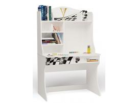 Стол с надстройкой Formula (белая)